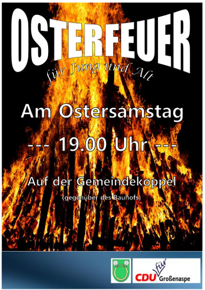 2017 Osterfeuer
